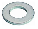 Flat washer - DIN125A and DIN126 - Plain Washer DIN125A - Steel zinc plated - M5